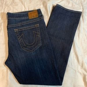 True Religion Ricky No Flap Relaxed Straight Jeans